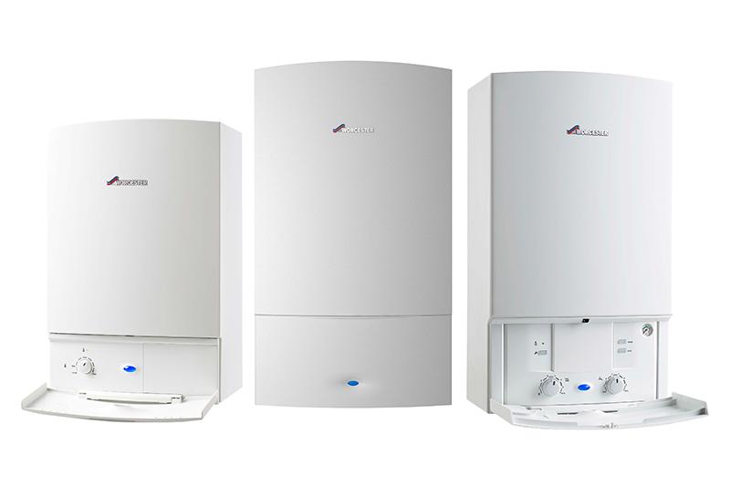 three boilers awaiting boiler installation